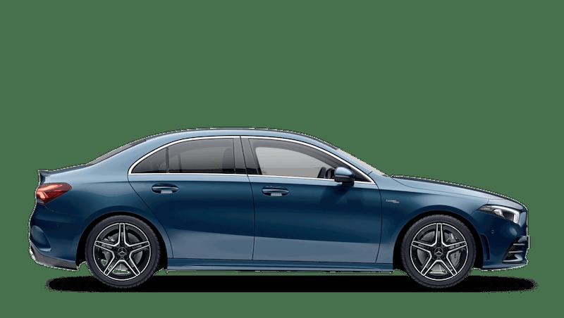 Denim Blue (Metallic) Mercedes-Benz A Class Saloon