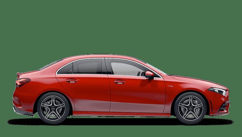 Jupiter Red Mercedes-Benz A Class Saloon