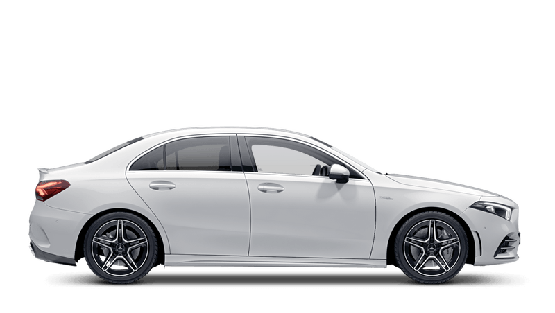 Polar White Mercedes-Benz A-Class Saloon