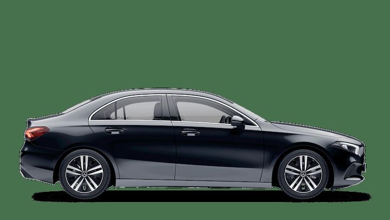 Cosmos Black (Metallic) Mercedes-Benz A-Class Saloon