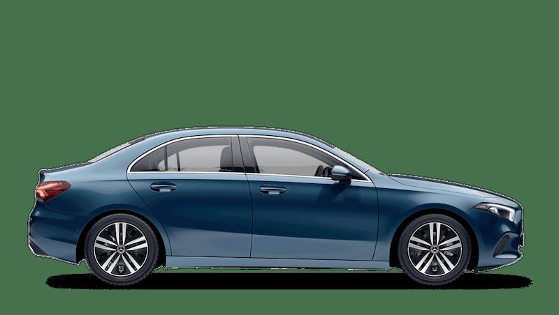 Denim Blue (Metallic) Mercedes-Benz A-Class Saloon