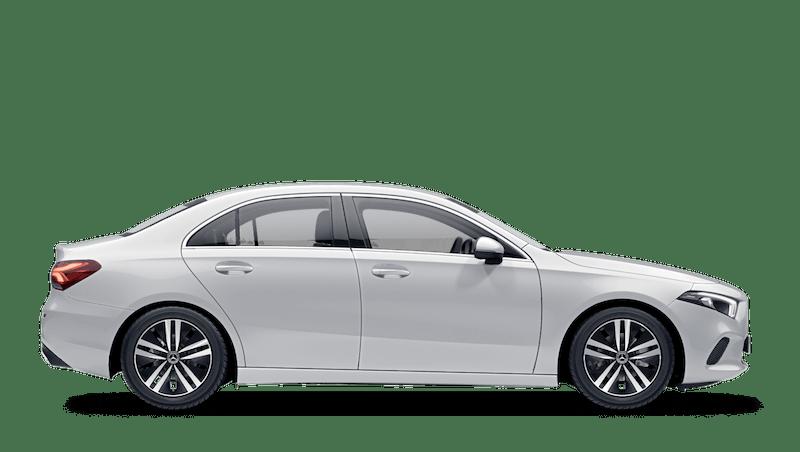 Digital White (Metallic) Mercedes-Benz A-Class Saloon