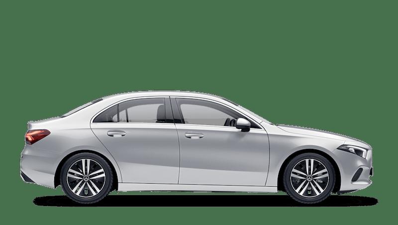 Iridium Silver (Metallic) Mercedes-Benz A-Class Saloon