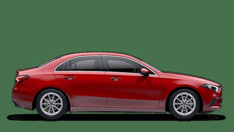 Jupiter Red (Solid) Mercedes-Benz A-Class Saloon