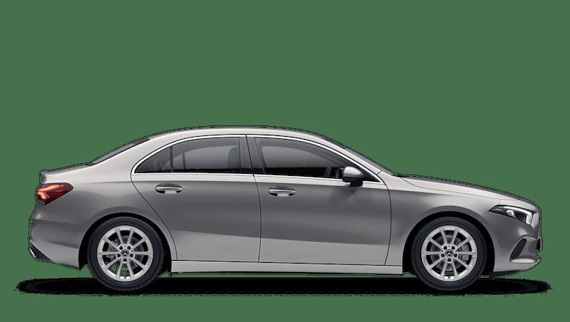 Mojave Silver (Metallic) Mercedes-Benz A Class Saloon
