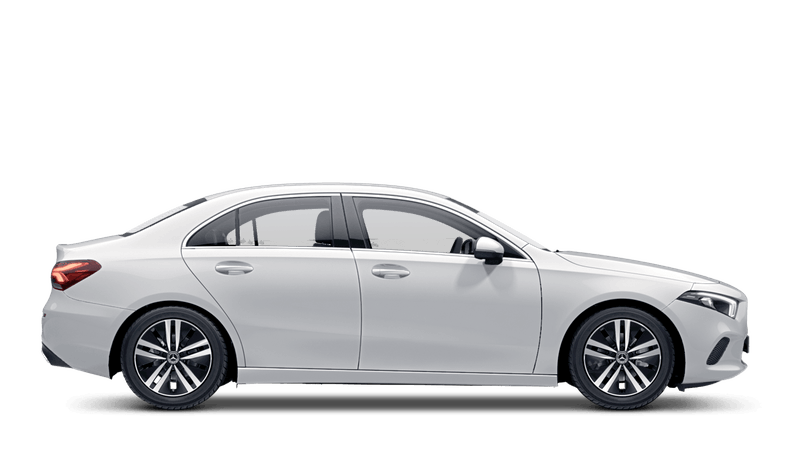 Polar White (Solid) Mercedes-Benz A-Class Saloon