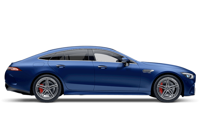 Brilliant Blue Magno Mercedes-Benz AMG GT 4-door Coupe