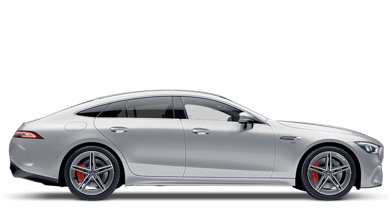 Iridium Silver (Metallic) Mercedes-Benz AMG GT 4-door Coupe