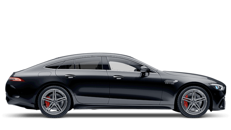 Obsidian Black (Metallic) Mercedes-Benz AMG GT 4-door Coupe