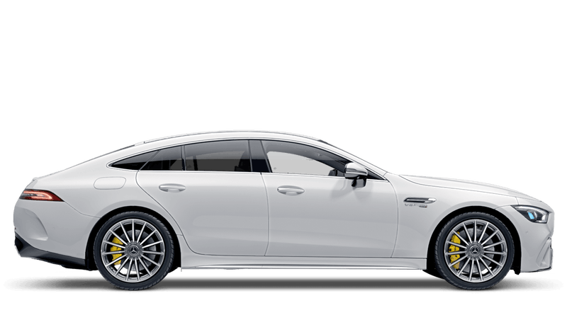 Polar White (Standard) Mercedes-Benz AMG GT 4-door Coupe