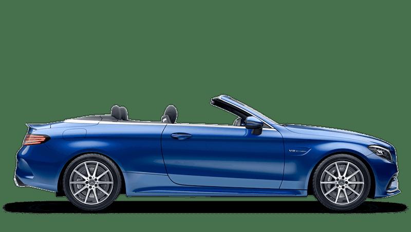 Brilliant Blue (Metallic) Mercedes-Benz C-Class Cabriolet