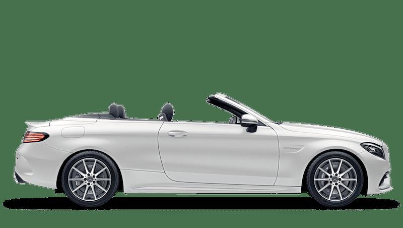 Cashmere White Magno (Designo Magno) Mercedes-Benz C-Class Cabriolet
