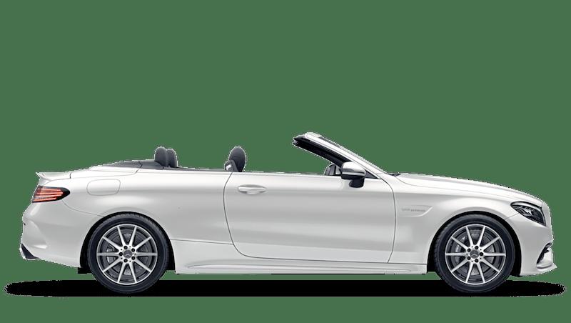 Diamond White (Designo Metallic) Mercedes-Benz C-Class Cabriolet