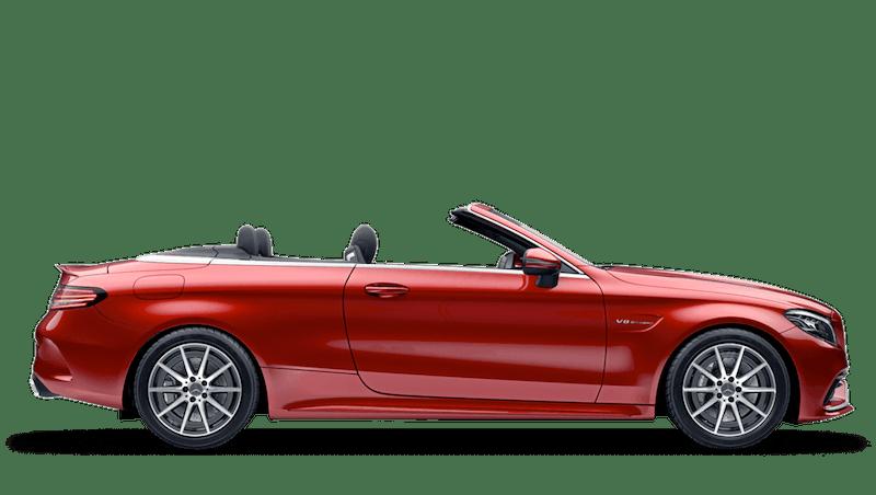 Hyacinth Red (Designo Metallic) Mercedes-Benz C-Class Cabriolet