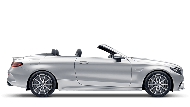 Iridium Silver (Metallic) Mercedes-Benz C-Class Cabriolet