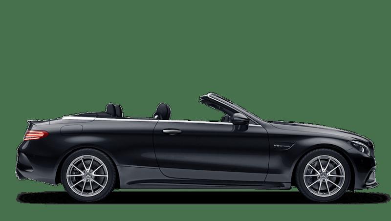 Obsidian Black (Metallic) Mercedes-Benz C-Class Cabriolet