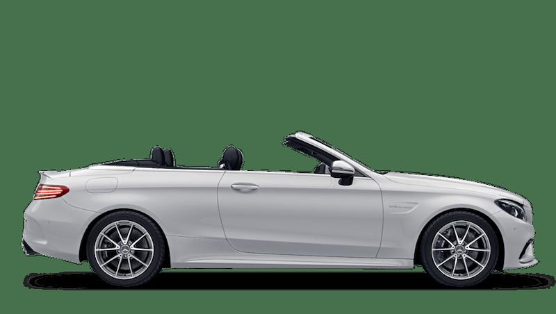 Polar White (Solid) Mercedes-Benz C-Class Cabriolet