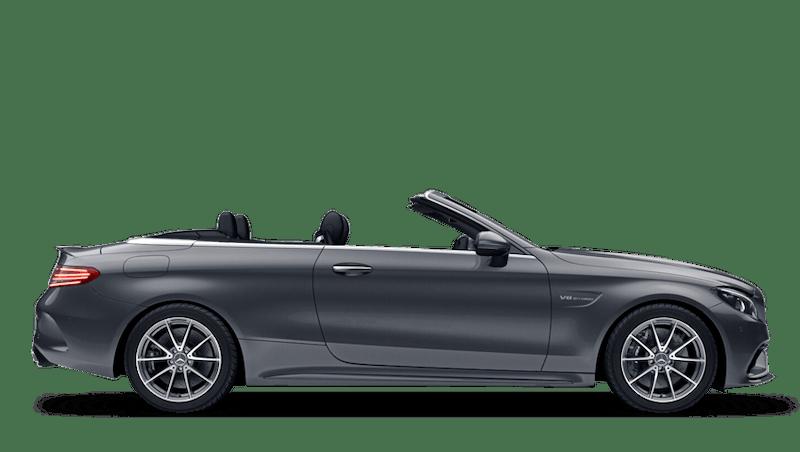 Selenite Grey (Metallic) Mercedes-Benz C-Class Cabriolet