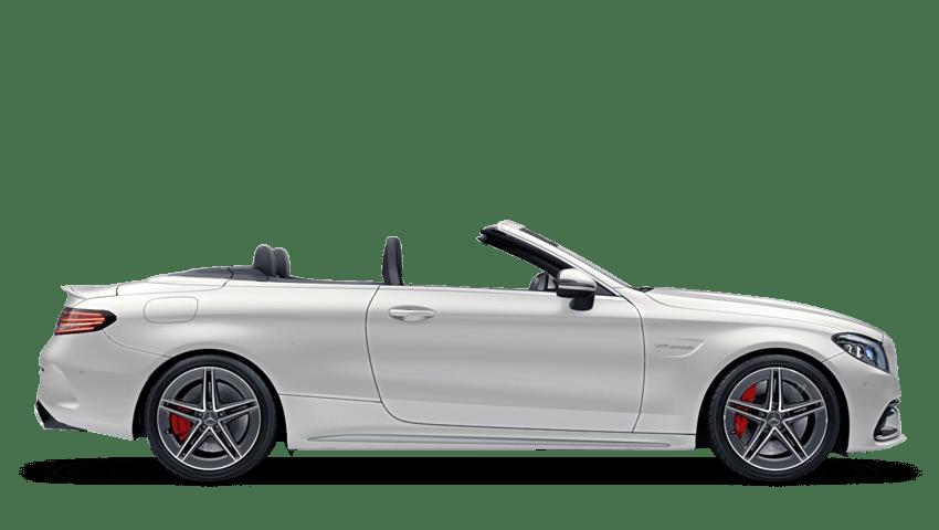 Cashmere White Magno (Designo Magno) Mercedes-Benz C Class Cabriolet