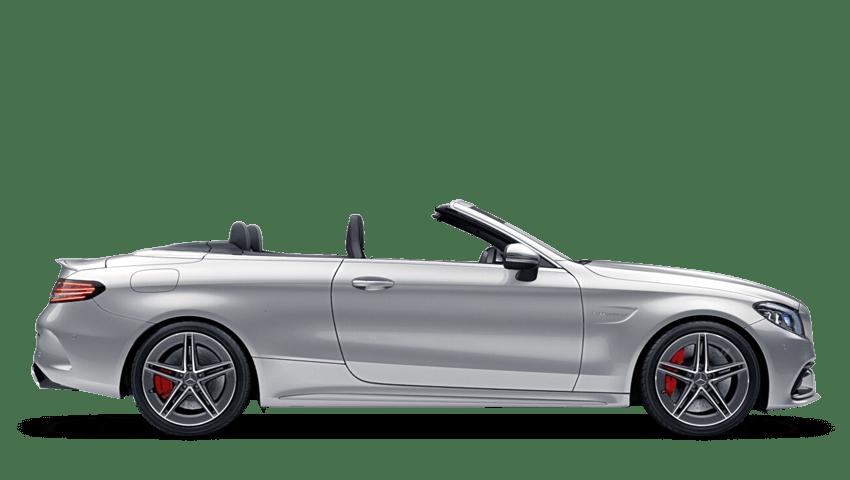 Iridium Silver (Metallic) Mercedes-Benz C Class Cabriolet
