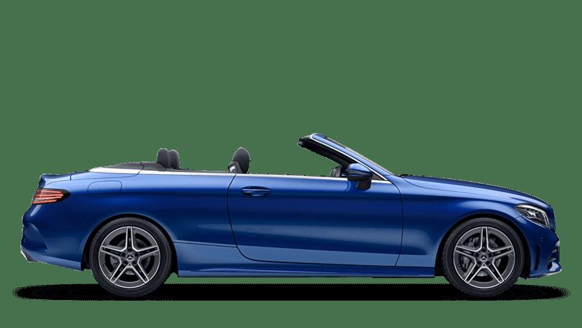 Brilliant Blue (Metallic) Mercedes-Benz C Class Cabriolet