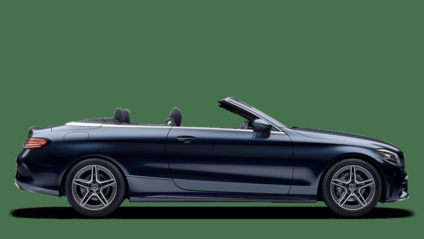 Cavansite Blue (Metallic) Mercedes-Benz C Class Cabriolet