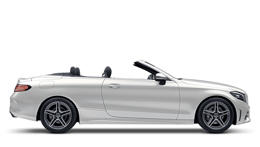 Diamond White (Designo Metallic) Mercedes-Benz C Class Cabriolet