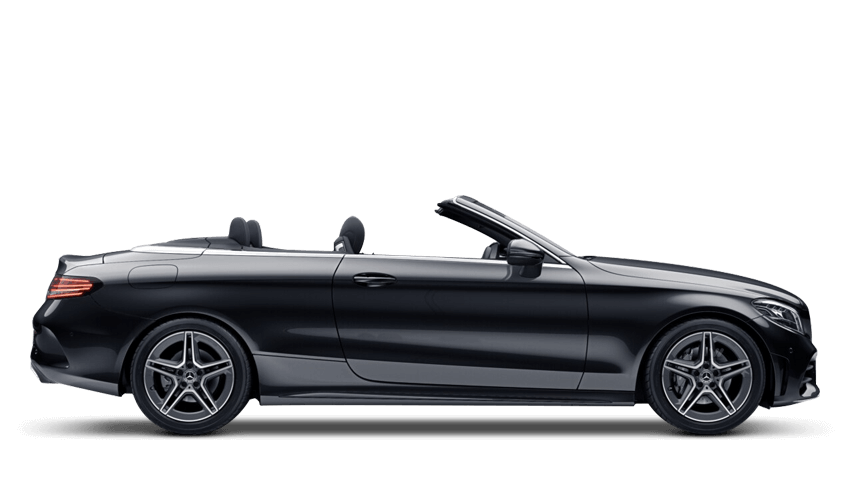 Obsidian Black (Metallic) Mercedes-Benz C Class Cabriolet