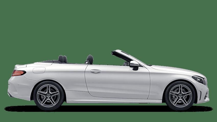 Polar White (Solid) Mercedes-Benz C Class Cabriolet