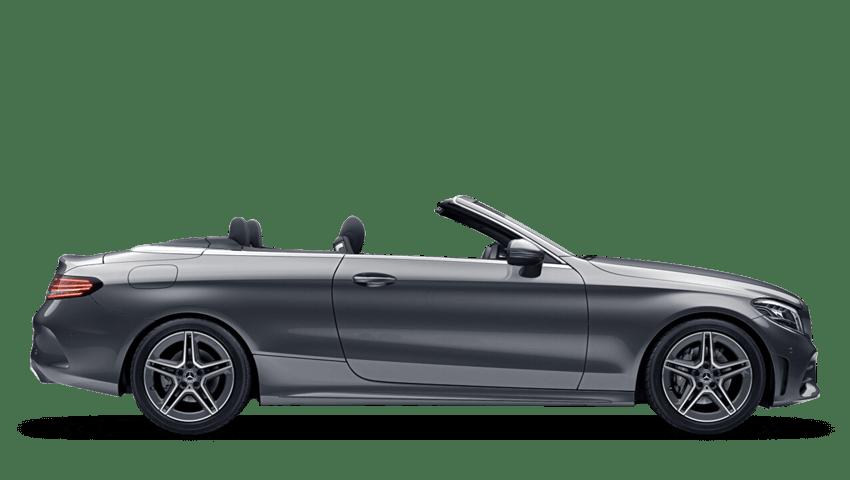 Selenite Grey (Metallic) Mercedes-Benz C Class Cabriolet