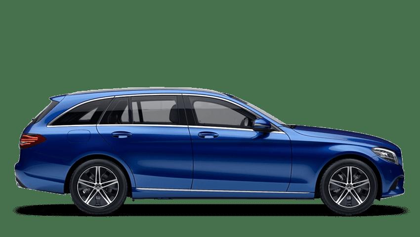 Brilliant Blue (Metallic) Mercedes-Benz C Class Estate