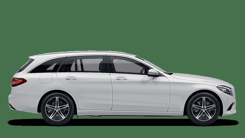 Diamond White (Designo Metallic) Mercedes-Benz C Class Estate
