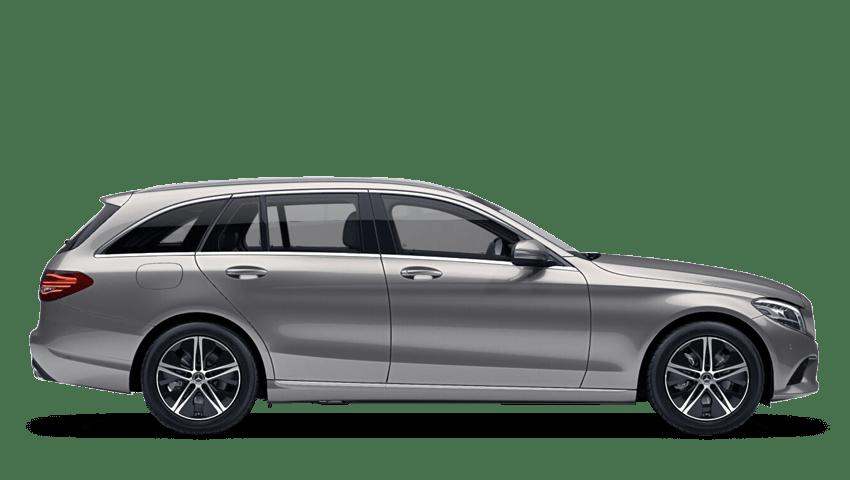 Iridium Silver (Metallic) Mercedes-Benz C Class Estate