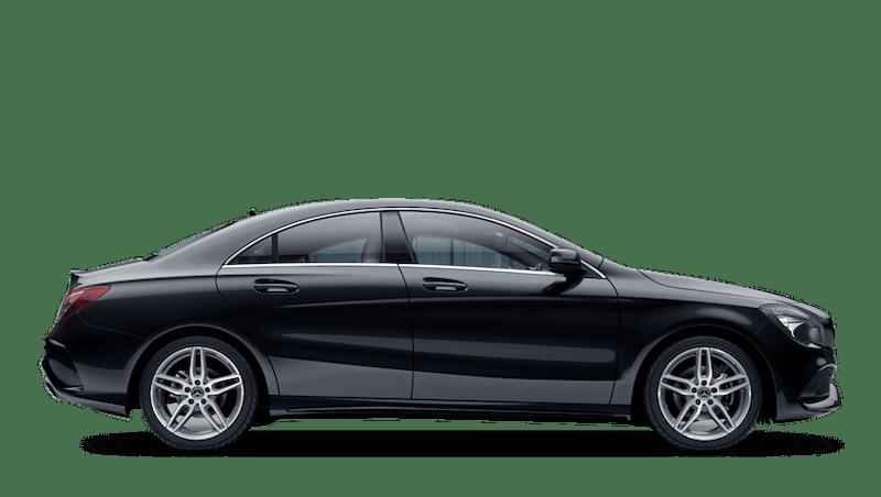 Cosmos Black (Metallic) Mercedes-Benz CLA Coupe