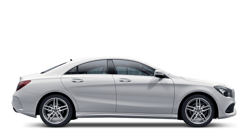Polar White (Solid) Mercedes-Benz CLA Coupe