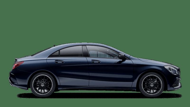 Cavansite Blue (Metallic) Mercedes-Benz CLA Coupe