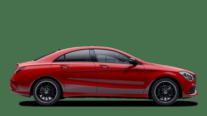 Jupiter Red (Solid) Mercedes-Benz CLA Coupe