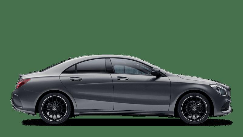 Mountain Grey (Metallic) Mercedes-Benz CLA Coupe