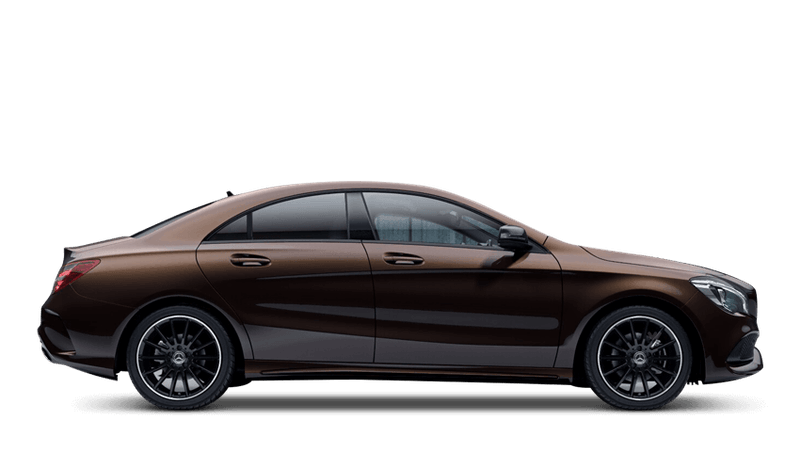 Orient Brown (Metallic) Mercedes-Benz CLA Coupe