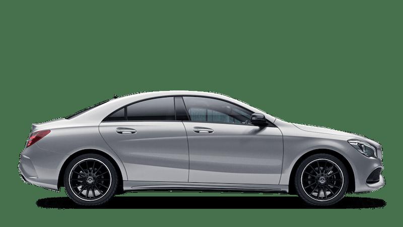 Polar Silver (Metallic) Mercedes-Benz CLA Coupe