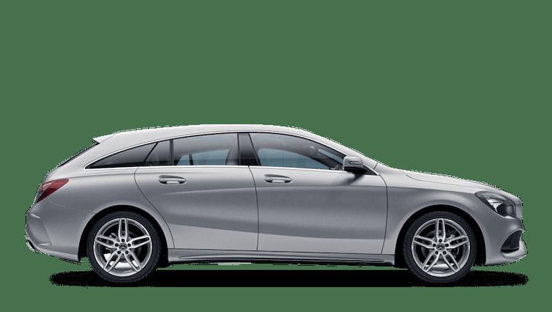Magno Polar Silver (Designo Magno) Mercedes-Benz CLA Shooting Brake
