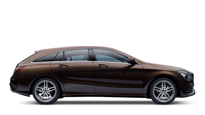 Orient Brown (Metallic) Mercedes-Benz CLA Shooting Brake