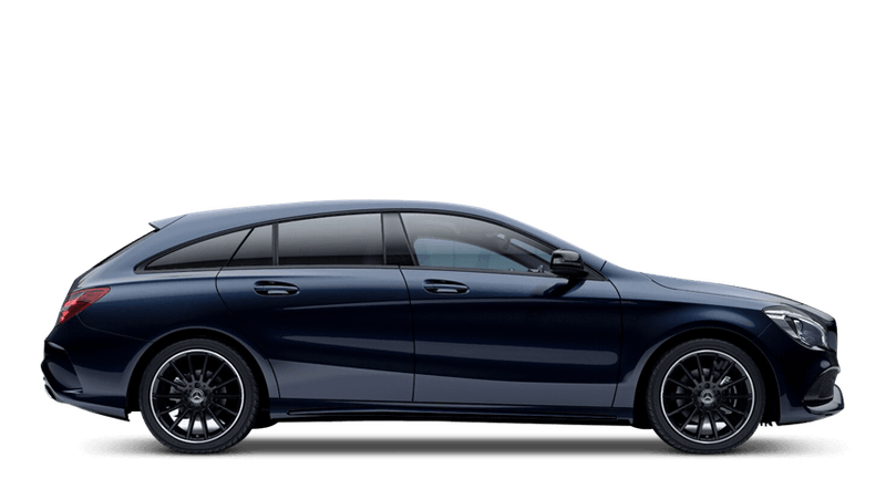 Cavansite Blue (Metallic) Mercedes-Benz CLA Shooting Brake