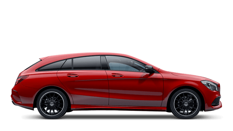 Jupiter Red (Solid) Mercedes-Benz CLA Shooting Brake