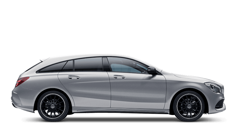 Polar Silver (Metallic) Mercedes-Benz CLA Shooting Brake