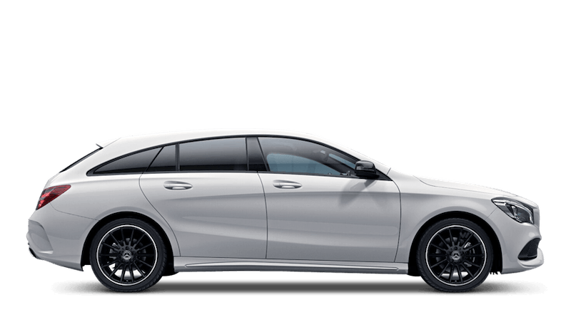 Polar White (Solid) Mercedes-Benz CLA Shooting Brake