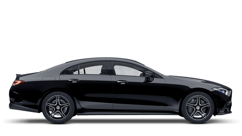 Black (Solid) Mercedes-Benz CLS Coupe
