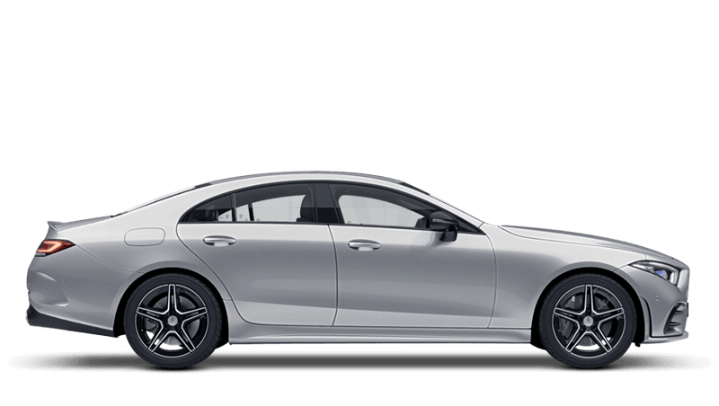 Iridium Silver (Metallic) Mercedes-Benz CLS Coupe