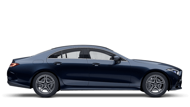 Cavansite Blue (Metallic) Mercedes-Benz CLS Coupe
