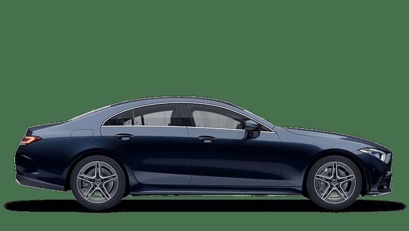 Cavansite Blue (Metallic) Mercedes-Benz CLS Coupe